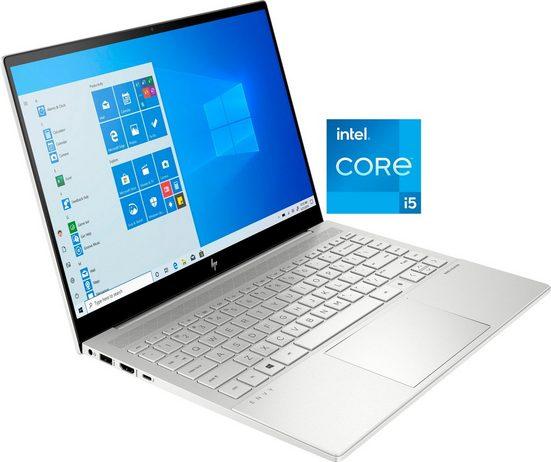 HP ENVY 14-eb0252ng Notebook (35,6 cm/14 Zoll, Intel Core i5, Iris© Xe Graphics, 1000 GB SSD, Kostenloses Upgrade auf Windows 11, sobald verfügbar)