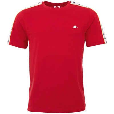 Kappa T-Shirt »HANNO« mit hochwertigem Jacquard Logoband mit Paspelierung