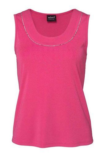 select! By Hermann Lange T-Shirt »Select By Hermann Lange Damen Designer-Top, himbeere«