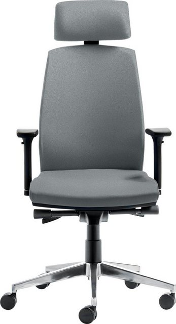 Mayer Sitzmöbel Chefsessel »Drehstuhl myCONTRACT LINE«, Rückenhöhe 7-fach verstellbar, verstellbare Kopfstütze