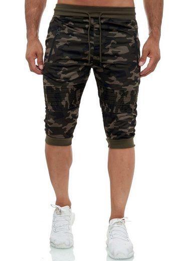 Max Men Sweatshorts »3322« Herren Aktive Capri Sport Shorts FREEMAX