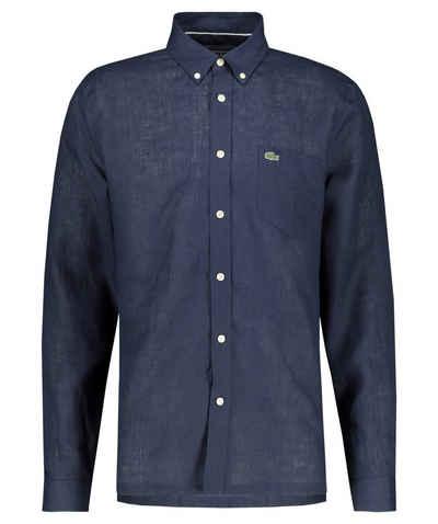 Lacoste Hemd »Herren Leinenhemd Regular Fit Langarm«