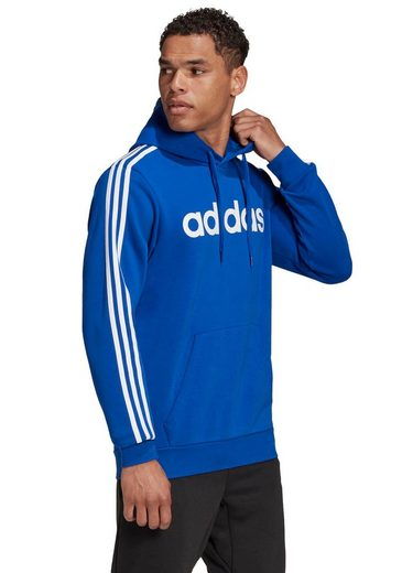 adidas Performance Kapuzensweatshirt »ESENTIALS 3 STIPES PO FL«