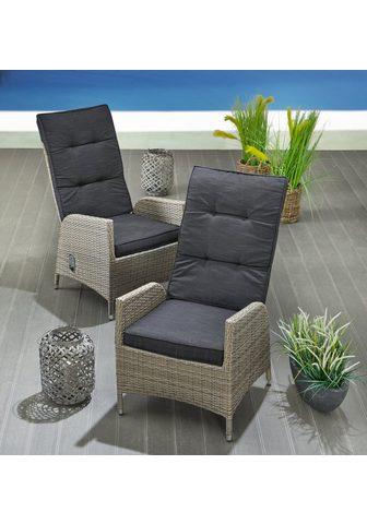KONIFERA Poilsio kėdė »Alva« stufenlos kočėlas