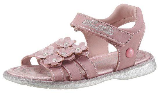 TOM TAILOR Sandale mit Zierperlen geschmückt
