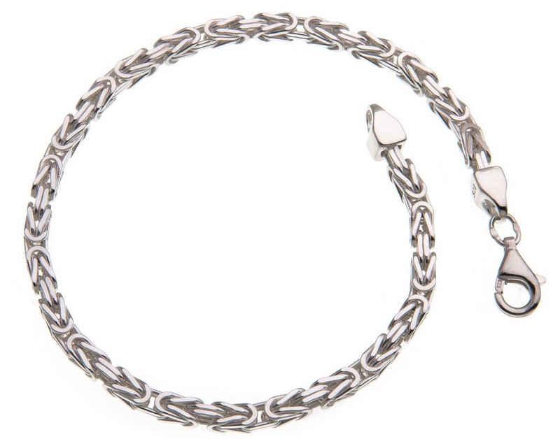 Silberkettenstore Silberarmband »Königskette Armband 3mm, 925 Silber, 16-25cm«