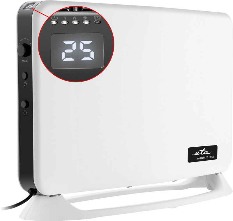 eta Konvektor WARMIE DIGI ETA162490000, 2000 W, LED Display, Timer, Temperatureinstellung 5-35 °C