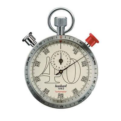 hanhart Stoppuhr »Stoppuhr CLASSICTIMER Tachymaster 40«, Messbereich: Km/h zu Meter