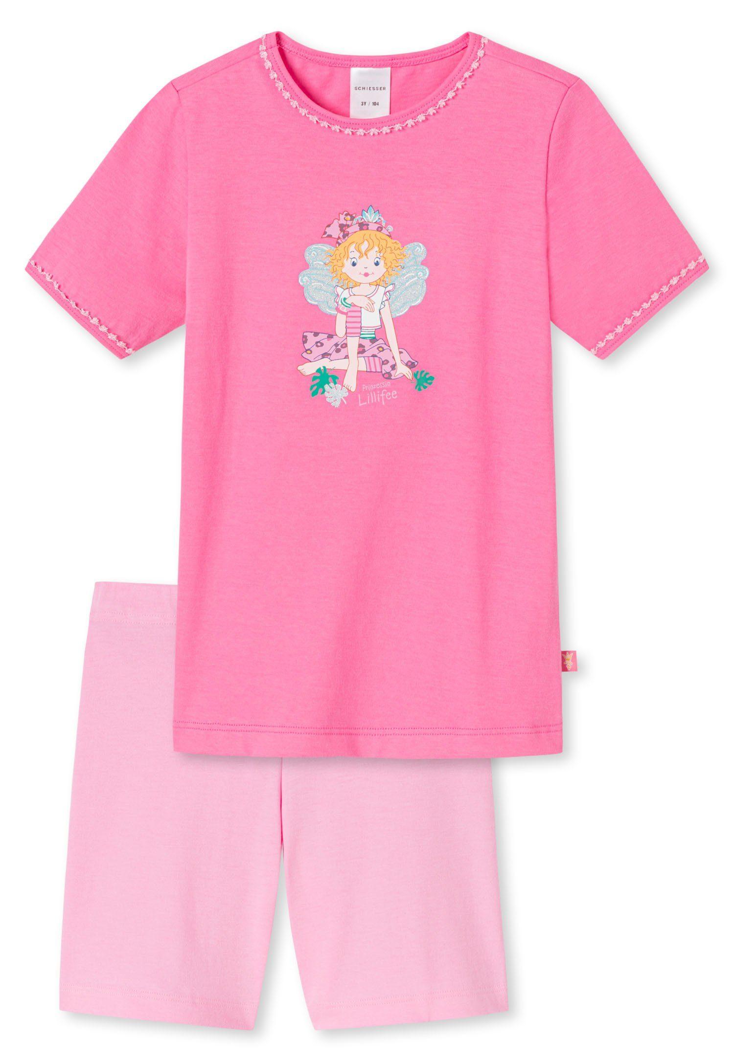 Schiesser Nachthemd Mädchen Baumwolle Single Jersey Sommer NEU