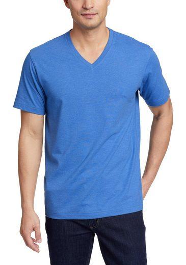 Eddie Bauer T-Shirt Legend Wash Pro - Kurzarm mit V-Ausschnitt