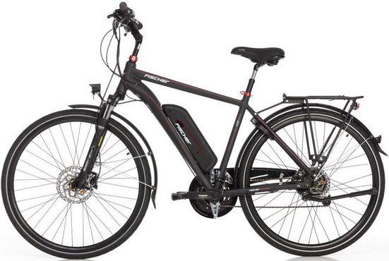 FISCHER Fahrräder E-Bike »ETH 1822«, 24 Gang Shimano Deore Schaltwerk, Kettenschaltung, Heckmotor 250 W