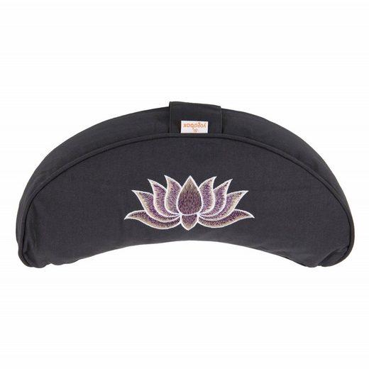 yogabox Yogakissen »Halbmond BASIC Lotus Stick multicolor«