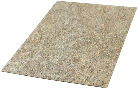 Dekorpaneele »Muster Slate Lite Sheet Cobre«, (1-tlg) 1 Muster aus Echtstein, in 25 Farben erhältlich