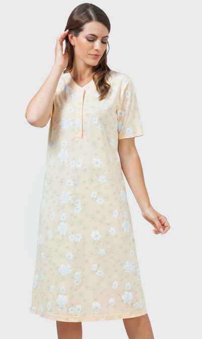 Hajo Nachthemd »Hajo Damen Nachthemd« Baumwolle