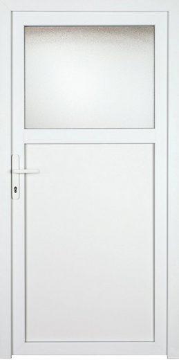 KM MEETH ZAUN GMBH Nebeneingangstür »K701P«, BxH: 108x208 cm cm, weiß, rechts