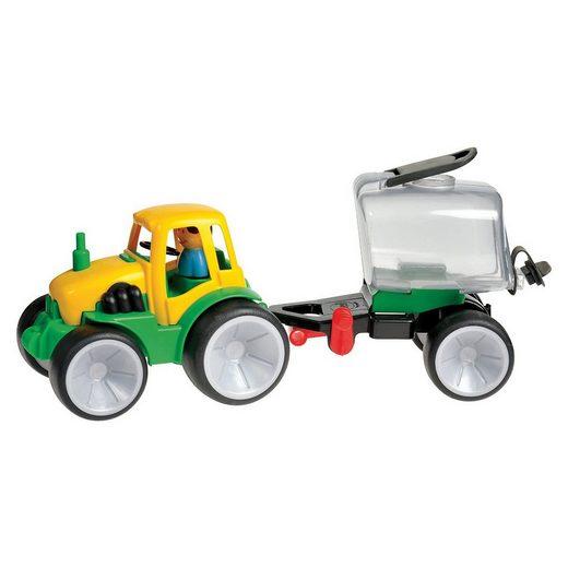 GOWI Outdoor-Spielzeug »Traktor mit Fassanhänger, 50 cm«