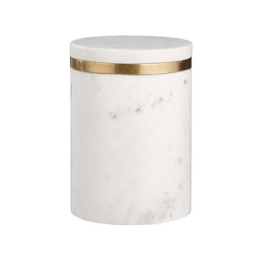 BUTLERS Aufbewahrungsbox »MARBLE Aufbewahrungsdose mit Goldrand 850ml«