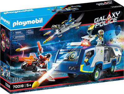 Playmobil® Konstruktions-Spielset »Galaxy Police-Truck (70018), Galaxy Police«, (131 St), Made in Europe