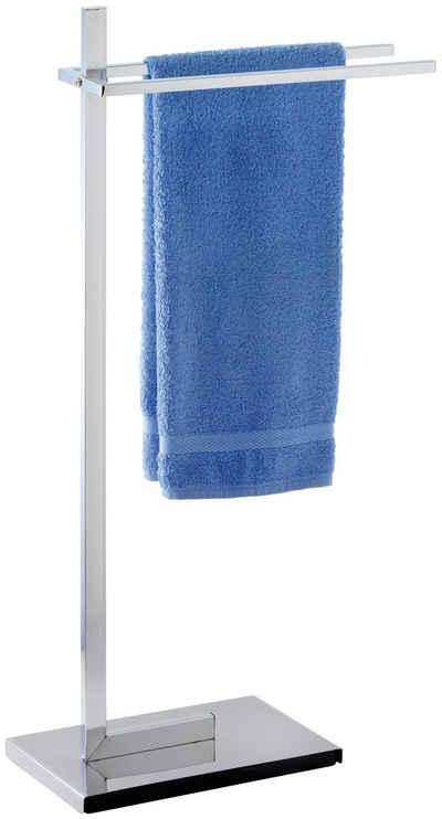 WENKO Handtuchhalter »Quadro«, mit 2 Handtuchstangen