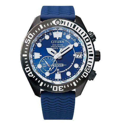 Citizen Solaruhr »CC5006-06L«, Promaster Marine Wave GPS Diver Satallite