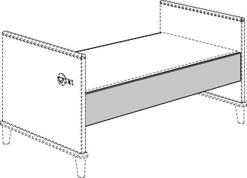 PAIDI Kinderbett »Umbauseiten (2 Stück) Lotte & Fynn«, Steiff by Paidi, für den Umbau vom Babybett zum Juniorbett oder Kindersofa