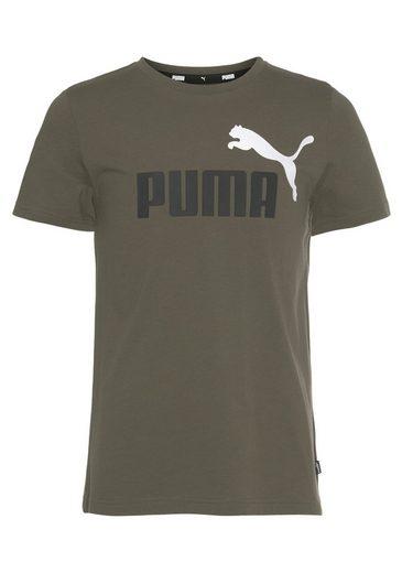 PUMA T-Shirt »ESS+ 2 Color Logo Tee«