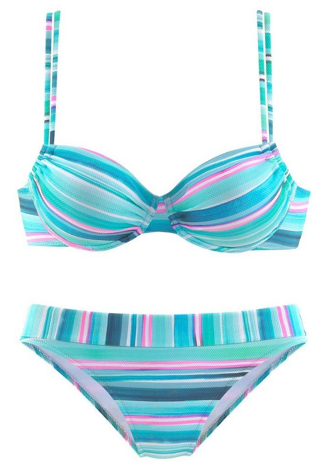 Bademode - Venice Beach Bügel Bikini in gestreifter Piqué Qualität ›  - Onlineshop OTTO