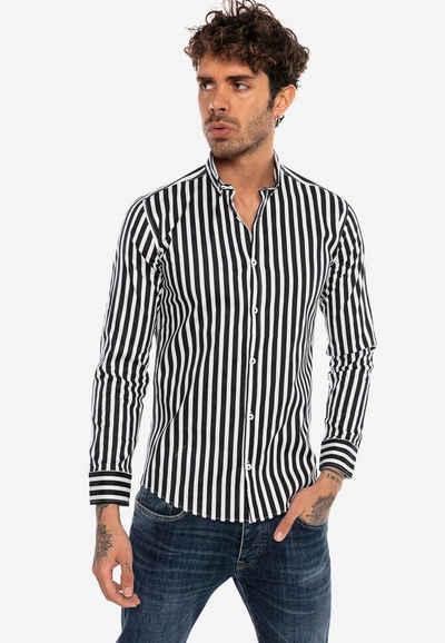 RedBridge Langarmhemd »Carrollton« mit gestreiftem Muster