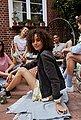 Elli Kette mit Anhänger »Layer - Halbmond, 0104222817«, mit Swarovski® Kristallen, Bild 9