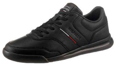 Tommy Hilfiger »LIGHTWEIGHT SNEAKER LEA STRIPE« Sneaker mit Logoschriftzug auf der Zunge