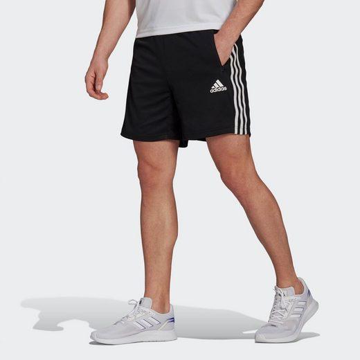 adidas Performance Trainingsshorts »PRIMEBLUE DESIGNED TO MOVE SPORT 3-STREIFEN«