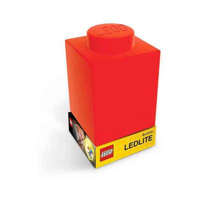 LEGO® Nachttischlampe »Nachtlicht LEGO-STEIN, rot«