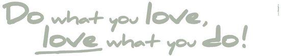 KOMAR Wandtattoo »Do what you love«, 2-teilig