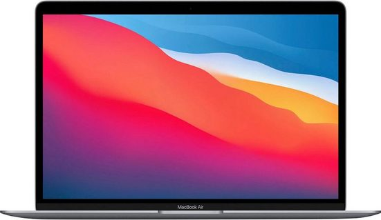Apple MacBook Air mit Apple M1 Chip Notebook (33,78 cm/13,3 Zoll, 7-Core GPU, 256 GB SSD)
