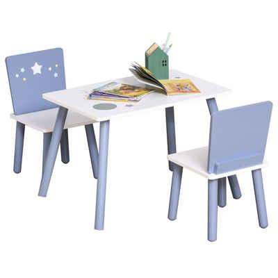 HOMCOM Kindersitzgruppe »3-teilige Kindersitzgruppe mit Sternen-Design«