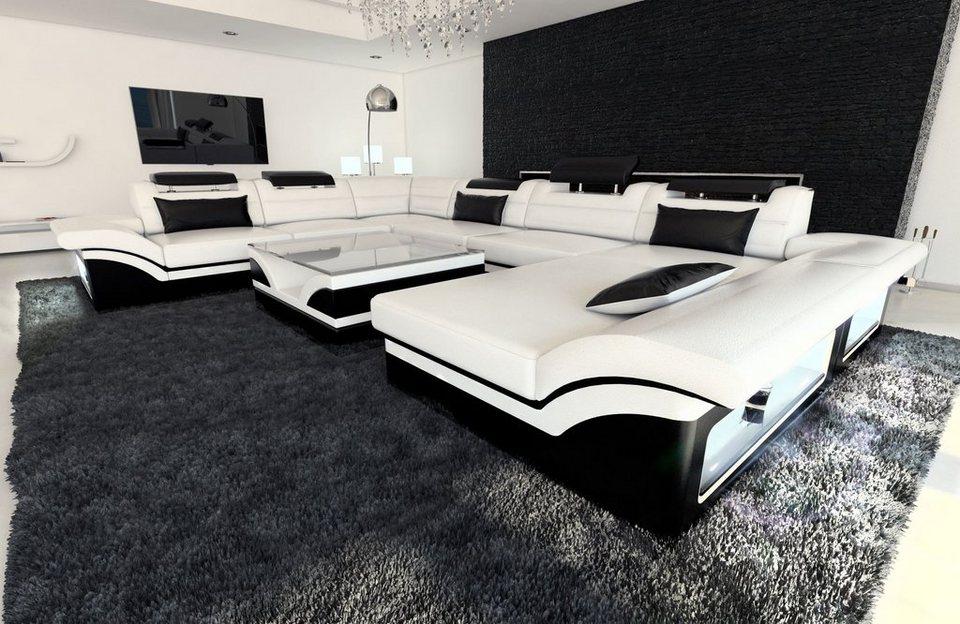 Sofa Dreams Sofa »Enzo«, XXL U Form, Hochwertige ...