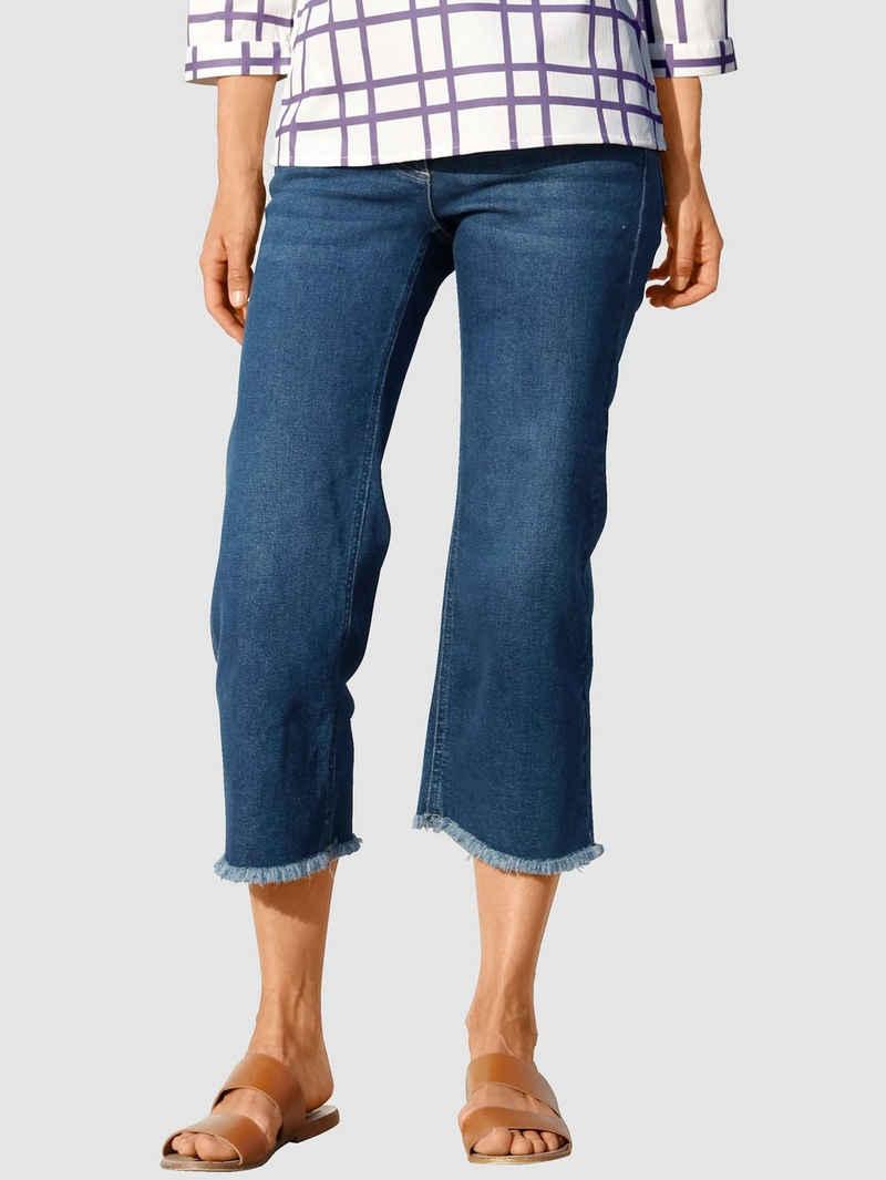Laura Kent Weite Jeans mit weitem Bein