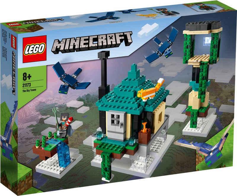 LEGO® Konstruktionsspielsteine »Der Himmelsturm (21173), LEGO® Minecraft™«, (565 St)
