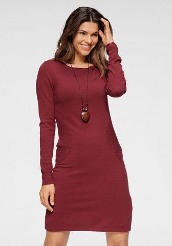 Boysen's Megzta suknelė su madingas kišenė