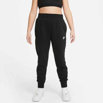 Nike Sportswear Sporthose »CLUB FLEECE BIG KIDS (GIRLS) PANTS«