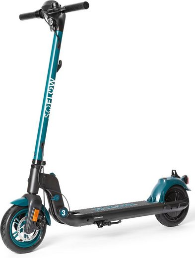 soflow E-Scooter »SOFLOW - SO3 E-Scooter mit Straßenzulassung«, 400 W, 20 km/h