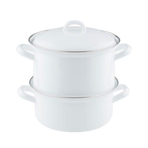 Riess Gemüsetopf »Riess Kartoffelkocher 18cm,2L Induktion«, Emaille