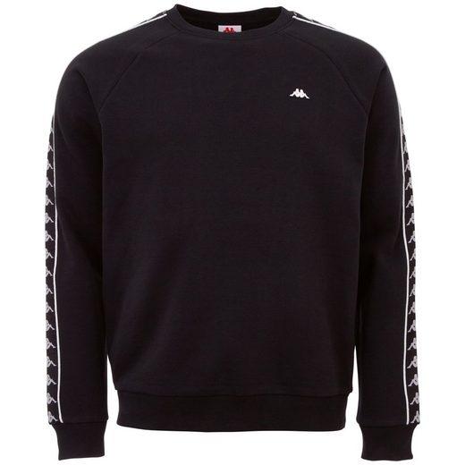 Kappa Sweatshirt »AUTHENTIC HARRIS« mit hochwertigem Logowebband am Ärmel
