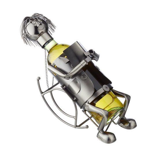 HTI-Living Weinflaschenhalter »Weinflaschenhalter Auszeit«, (1-St)
