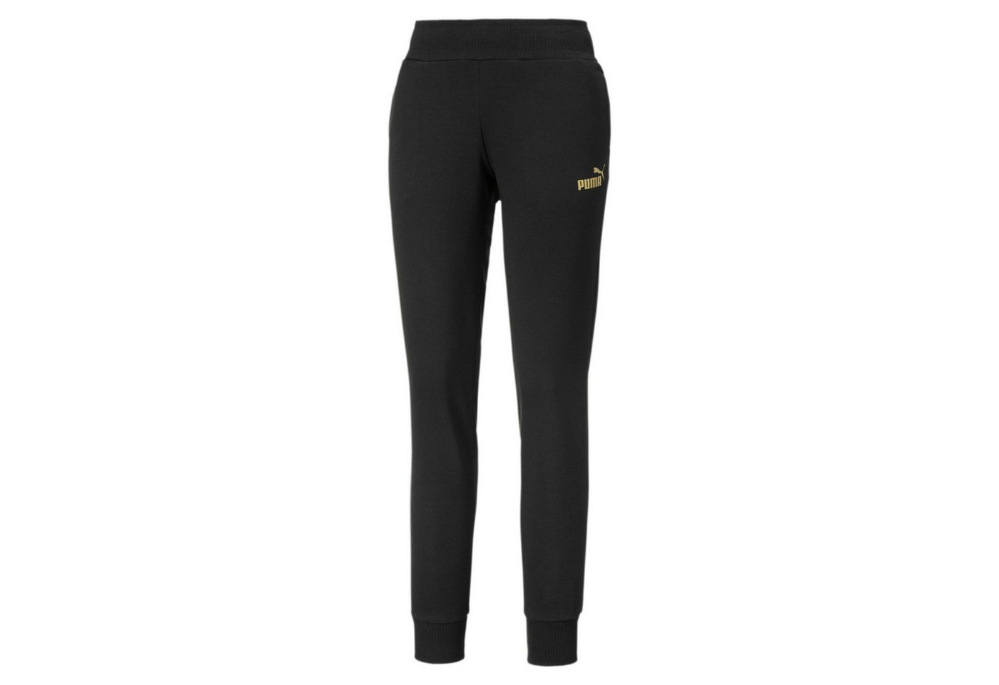 puma -  Jogginghose »Metallic Branded Damen Fleece Hose«