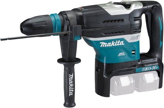Makita Akku-Kombibohrhammer »DHR400ZKU«, max. 500 U/min, (Set), 2x18 V, ohne Akku und Ladegerät