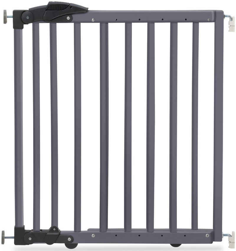 Geuther Türschutzgitter, zum Klemmen oder Schwenken; verstellbar von 68-102 cm