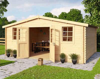 Outdoor Life Products Gartenhaus »Mosel 5«, BxT: 549x420 cm