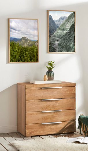 Kommode »Murani«, Fronten aus Massivholz