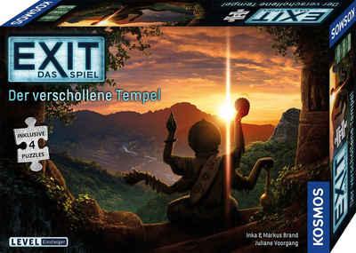 Kosmos Spiel, »EXIT – Der verschollene Tempel«, Made in Germany